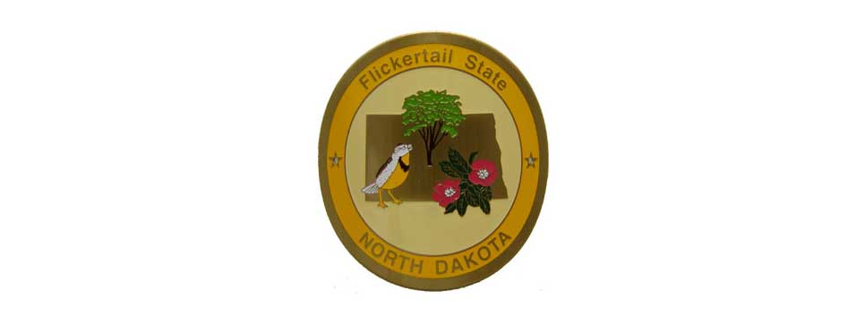 North Dakota Medallion
