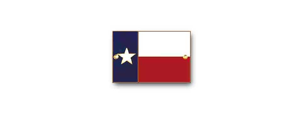 Texas Flag Medallion