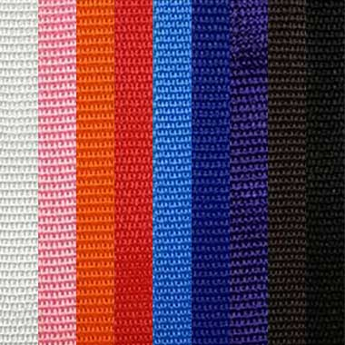Solid Color Woven Wrist Straps