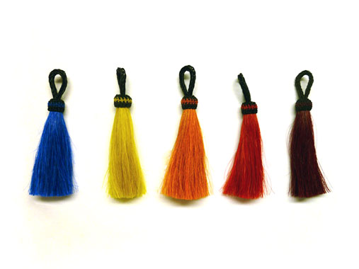 Single Hot Color Tassels